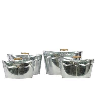 Urban Trends Metal Bucket, 14.2