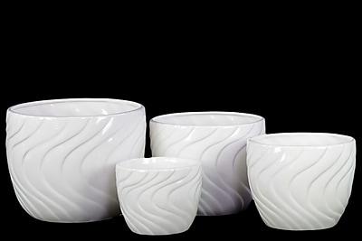 Urban Trends Ceramic Pot, 8.25