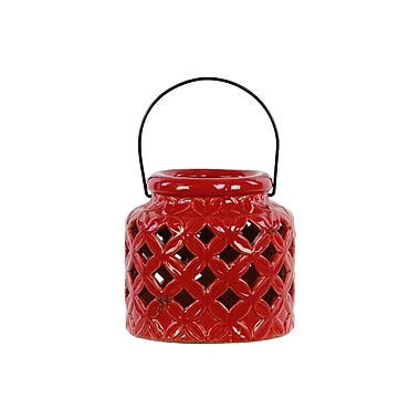 Urban Trends Ceramic Lantern, 7