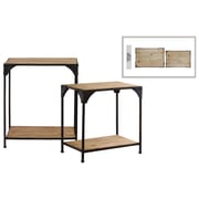 "Urban Trends Metal Table, 20.5"" x 14.75"" x 24"", Black (14206)"