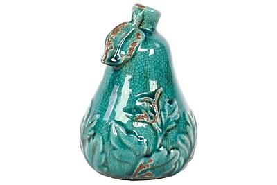 """Urban Trends Ceramic Figurine, 4.5""""L x 4.5""""W x 6.5""""H, Blue (22110)"""