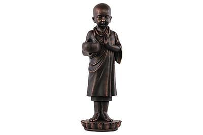 Urban Trends Fiberstone Buddhist Monk Statue, 7.75