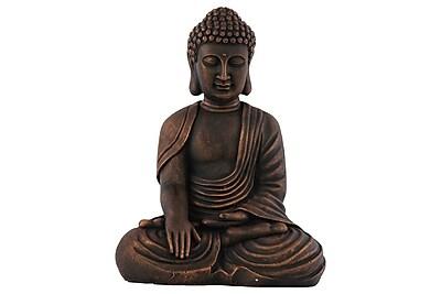 Urban Trends Fiberstone Sitting Buddha Statue, 13