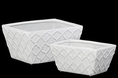 Urban Trends Ceramic Pot, 9.25