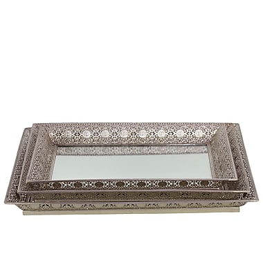 Urban Trends Metal Tray, 18