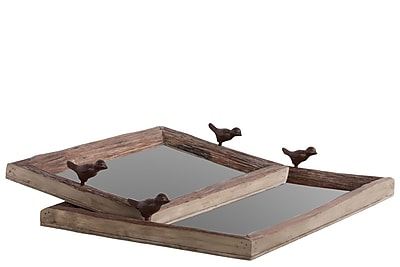 Urban Trends Wood Tray, 22
