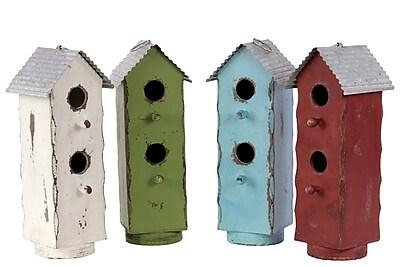 Urban Trends Wood Birdhouse, 5.25