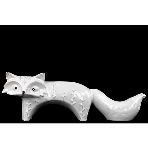 """Urban Trends Ceramic Figurine, 16.5""""L x 5""""W x 6""""H, White (27200)"""
