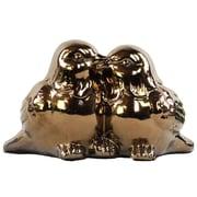 """Urban Trends Ceramic Figurine, 9.75""""L x 5""""W x 6""""H, Gold (28103)"""