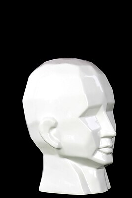 Urban Trends Ceramic Head Sculpture, 6