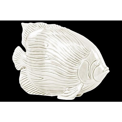"""Urban Trends Ceramic Figurine, 9.25""""L x 3""""W x 7""""H, White (32406)"""