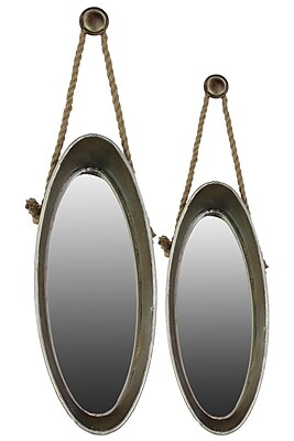 Urban Trends Metal Mirror, 13.75