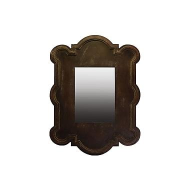 Urban Trends Wood Mirror, 30