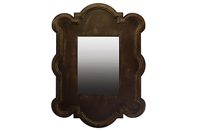 Urban Trends Wood Mirror, 30