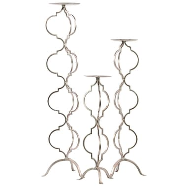 Urban Trends Metal Candle Holder, 8