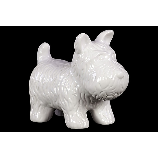 "Urban Trends Ceramic Figurine, 8""L x 4.5""W x 7""H, White (46617)"