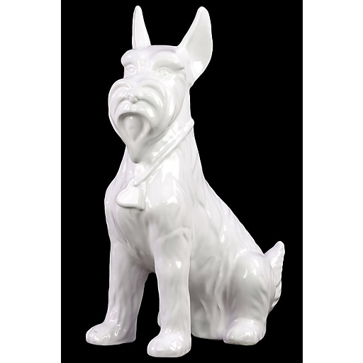 "Urban Trends Ceramic Figurine ,, 5"" x 9"" x 13"", White (46675)"