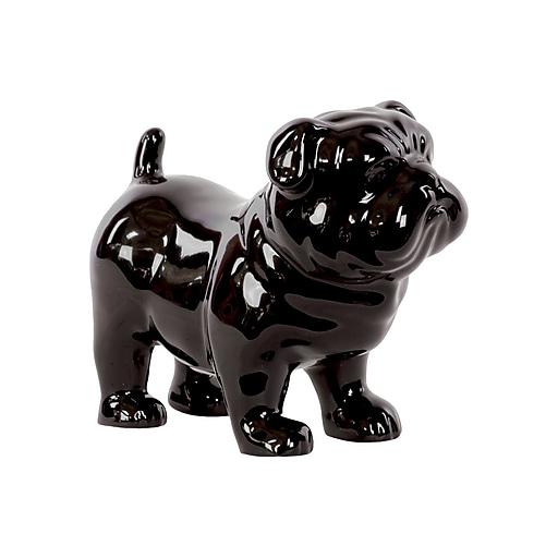 "Urban Trends Ceramic Figurine, 8.5"" x 4.5"" x 7.25"", Black (# 46705)"
