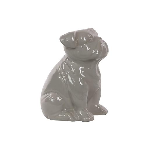 "Urban Trends Ceramic Figurine, 8""L x 5.5""W x 10""H, Gray (46717)"