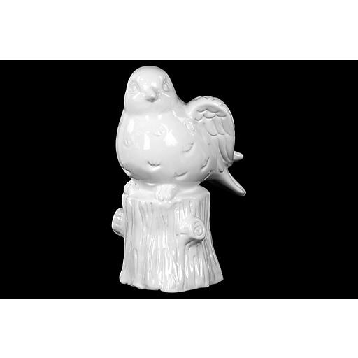 """Urban Trends Ceramic Figurine, 5""""L x 6.25""""W x 9.5""""H, White (46736)"""