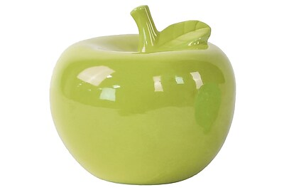 Urban Trends Ceramic Apple Figurine, 6.5