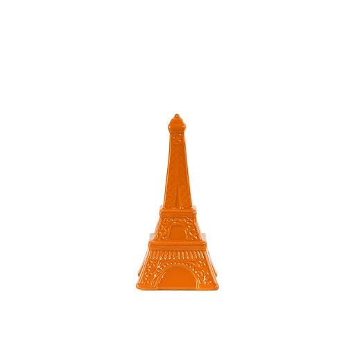 "Urban Trends Ceramic Figurine, 4""L x 4""W x 8.5""H, Orange (46953)"