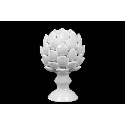 "Urban Trends Porcelain Figurine, 6.5"" x 6.5"" x 10"", White (50502)"