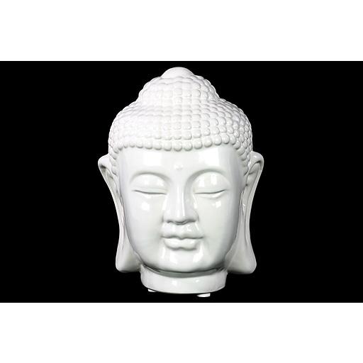 "Urban Trends Ceramic Head, 5.5""L x 6""W x 8""H, White (50521)"
