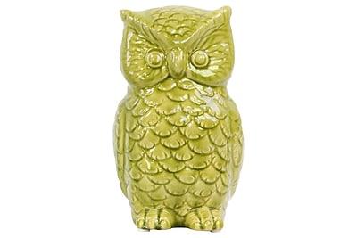 Urban Trends Ceramic Owl Figurine, 5