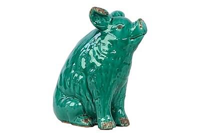 Urban Trends Ceramic Pig Figurine, 11