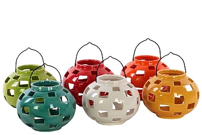 Urban Trends Ceramic Lantern, 5.5