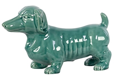Urban Trends Ceramic Dachshund Dog Figurine, 10.25