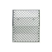 "Urban Trends Metal Organizer, 13.25"" x 3"" x 16"", Gray (52106)"