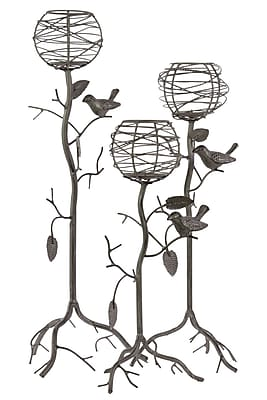 Urban Trends Metal Candle Holder, 9