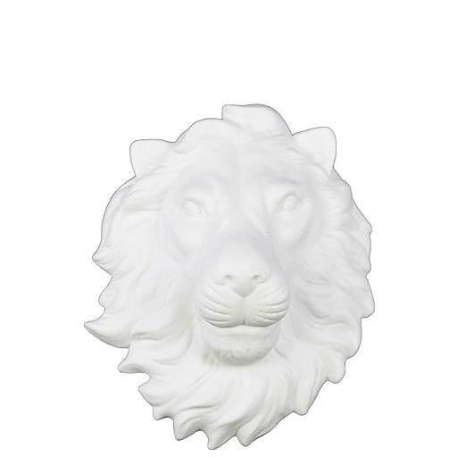"Urban Trends Ceramic Head, 8.5"" x 4"" x 10"", White (64428)"