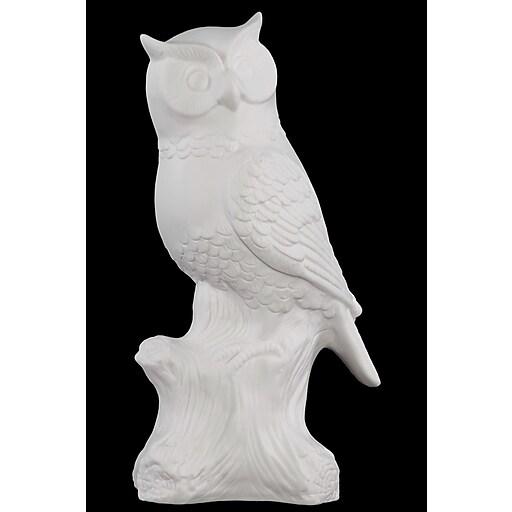 "Urban Trends Porcelain Figurine, 6""L x 3.5""W x 10.75""H, White (66700)"