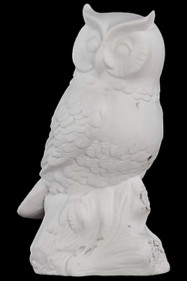 """""Urban Trends Porcelain Figurine, 4""""""""L x 3.25""""""""W x 7.25""""""""H, White (66701)"""""" 2032186"