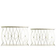 Urban Trends Collection Metal Console Table, Gold, Each (67022)