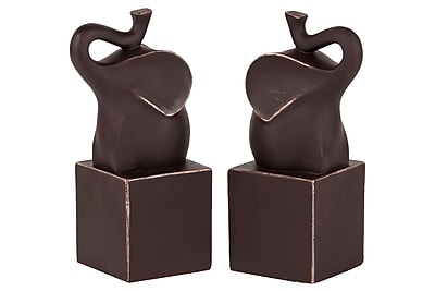 Urban Trends Resin Bookend, 4.25