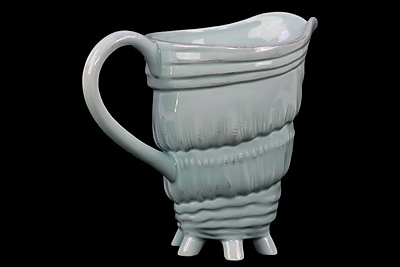 Urban Trends Ceramic Pitcher, 9.5