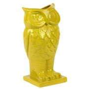 "Urban Trends Ceramic Vase, 5.5"" x 5.5"" x 13.5"", Yellow (73072)"