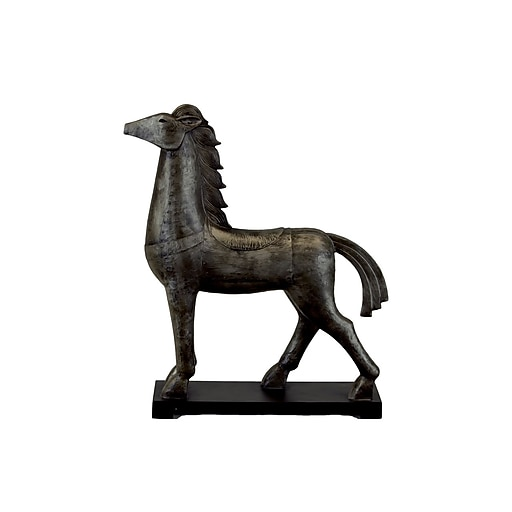 "Urban Trends Resin Figurine, 19""L x 5""W x 23""H, Black (73137)"