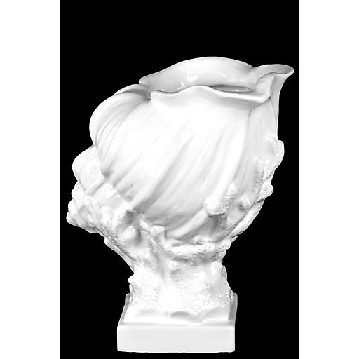 "Urban Trends Ceramic Sculpture, 9.5"" x 7.5"" x 12"", White (73193)"
