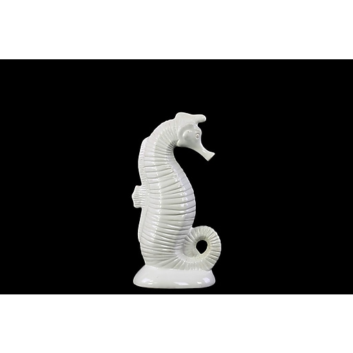 "Urban Trends Ceramic Figurine, 6.5"" x 4"" x 12"", White (73208)"