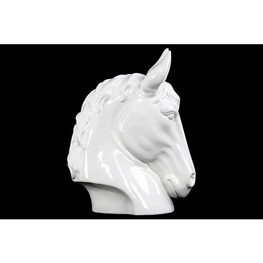 "Urban Trends Ceramic Head, 10""L x 6""W x 13.5""H, White (73215)"