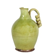 "Urban Trends Ceramic Vase, 11"" x 11"" x 13.5"", Green (# 76039)"