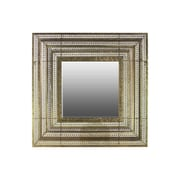 "Urban Trends Metal Mirror, 32"" x 3"" x 32"", Gold (94143)"