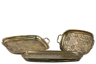 Urban Trends Metal Tray, 26