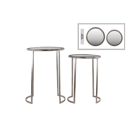 Urban Trends Collection Metal Accent Table, Gold, Each (94198)