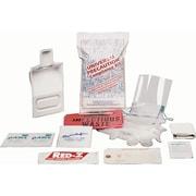 Trousse de nettoyage des déversements, trousse de luxe, SEE492, fluides corporels, 5/paquet